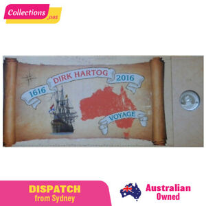 2016 Perth Mint Dirk Hartog 1oz Silver Coin Mini Sheet Set RARE! Limited Edition