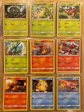 Complete Hidden Fates Set - M/NM Pack Fresh - Common/Uncommon with Energies