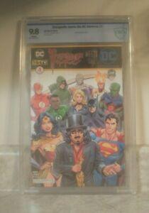 SVENGOOLIE MEETS THE DC UNIVERSE #1 NYCC Rich Koz CBCS 9.8  METV comic NOT CGC