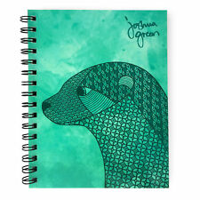 Monster Stationery - Joshua Green A5 Lined Notebook - Made in UK -  Otter