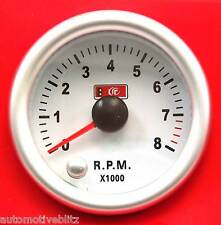 53mm 2.3/32'' Electric Tachometer Gauge with 7 LED Colour Change Function