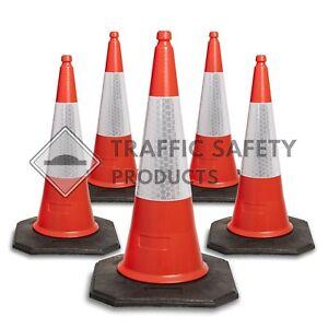 Pack of 5 - ELITE Traffic Cones 750mm Wholesale Pallet