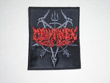 CENTINEX DEATH METAL EMBROIDERED PATCH