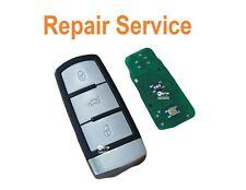 VW Volkswagen Passat mk7 b6 cc 3 button smart key repair refurbishment service