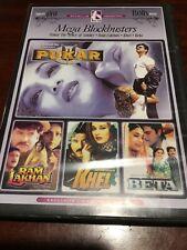PUKAR, RAM LAKHAN,  KHEL & BETA 4 Movies VGC DVD R All NTSC
