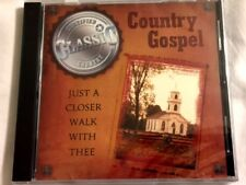 Brand New CD ~ Country Gospel ~Just a Closer Walk With Thee & 7 Other Songs~NEW