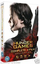 ❏ The Hunger Games - Complete 4 Film Collection DVD ❏ Genuine R2 Mockingjay Fire