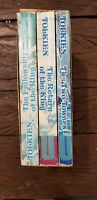TOLKIEN  LORD OF THE RINGS PAPERBACK SET UNWIN BOOKS 1974