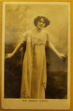 1911 real photo Actress postcard - Miss Adrienne Augarde.