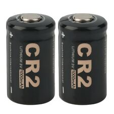 2 Pieces CR2 3.0V 1000mAh Protected Rechargeable Battery + Case for Soshine WA