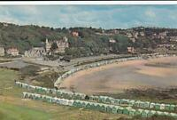 c1960 Plastichrome Postcard - LANGLAND BAY, SWANSEA.