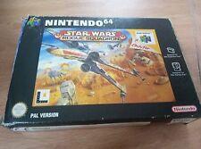 Star Wars Rogue Squadron - Nintendo 64 - N64 - PAL - completo