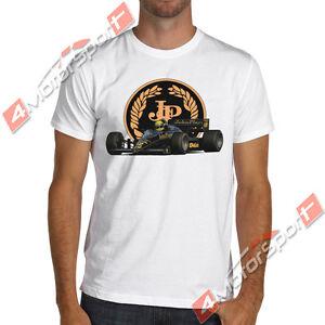 1986 Lotus 98T classic F1 Ayrton Senna T-Shirt formula one