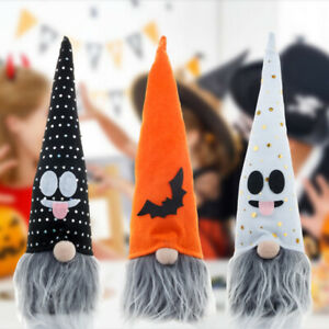 Halloween Faceless Gnome Doll Glowing LED Light Home Festival Party Decoration