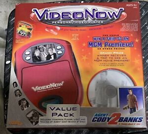 Video Now Personal Video Player Agent Cody 2 Banks Value Pack