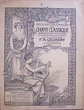 ) partition ancienne CAVATINE D'ARMIDE - Gluck - Lemoine