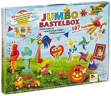 folia 50915/1 - Jumbo Bastelkoffer 107 teilig