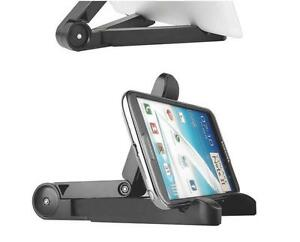 Folding Adjustable Desk Holder Mount Stand For iPhone Galaxy Tablet iPad Air 2 I