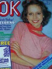 OK MAGAZINE 26TH MARCH 1977 - PAUL MCCARTNEY - ROBERT POWELL - DAVID ESSEX