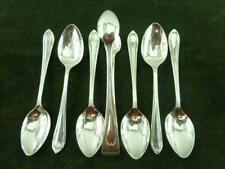 Six Nice Vintage Coffee Spoons & Tongs silver plated EPNS
