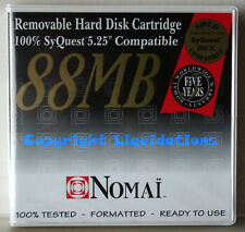 "Nomai 88MB Removable Hard Disk Cartridge 5.25"" SyQuest Compatible"