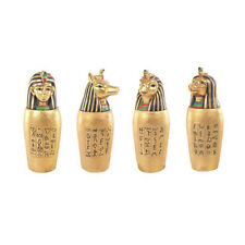Egyptian Gold Canopic Jar Ancient Egypt King Queen God Decorative Treasures Gift