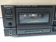 Technics rs-bx606 Cassette Deck AA Class Dolby BC-Made in Japan