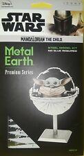 2020 DISNEY STAR WARS THE MANDALORIAN THE CHILD ICONX 3-D METAL EARTH'S PREMIUM