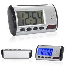 Alarm Clock Camera Mini Video Recorder Hidden Nanny Cam DVR Motion Detection USB
