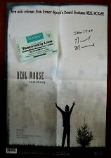 Neal Morse A3 Testimony Poster, Signed + Testimony Live 2003 Concert Ticket