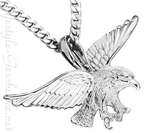 Anhänger 925 Silber dekorativer ADLER - Raubvogel (02)