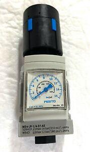 FESTO MS4-LR-1/4-D7-AS Air Pressure Regulator