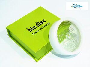Bio Disc 4 , 100% Authentic Quantum Scalar Energy Power Amazing Health+Ring