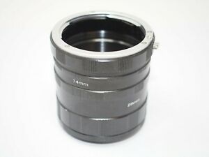 Manual Extension Tube Set for Canon EOS Cameras