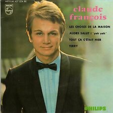 CLAUDE FRANCOIS LES CHOSES DE LA MAISON FRENCH ORIG EP C. CHEVALLIER