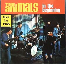 The Animals – In The Beginning / Live In 1963 CD Sundazed SC 6001 NM/Mint