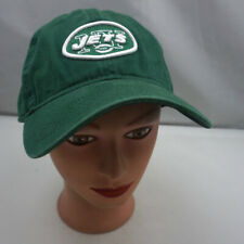 New York Jets Hat Green Stitched Adjustable Baseball Cap Pre-Owned ST216