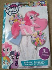 MY LITTLE PONY OFFICIAL 5 PK BOUQUET FOIL BALLOONS KIDS PARTY/ BIRTHDAY