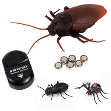Infrared Remote Control Mock Fake Cockroach RC Toy Spiders Ant Joke Trick Bugs