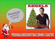 Alex o'loughlin personalizzato Drink Coaster Perfetto Regalo Di Babbo natale segreto