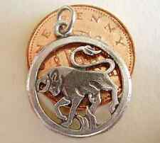 BEAUTIFUL '  TAURUS ' SOLID STERLING SILVER ZODIAC CHARM
