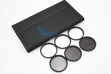 52MM 4X 6X 8X STAR ND2​+ND4+ND8 ND FILTER SET with CASE for DSLR Camera Lens #01