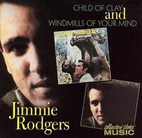 Child of Clay/Windmills of Your Mind by Jimmie F. Rodgers (Folk) (CD, Oct-2003,