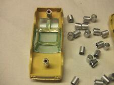 Aurora Model Modering , Johnny Lightning,  slot car screw post savers