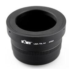 Black anodized  LMA-TM-N1 lens mount adapter T Mount Nikon 1 Nikon1 V1 V2 V3 J5