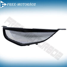 Fits 04-06 MAZDA 3 Sedan 4Dr Black Front Mesh Hood Grille Grill ABS