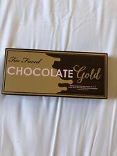 Too Faces Chocolate Gold Eye Shadow Palette New In Box