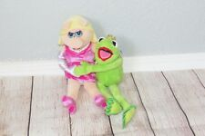 Miss Piggy Kermit Frog Muppets Most Wanted Movie Disney Store Plush Doll Set 12""