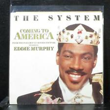 """The System - Coming To America 7"""" Mint- Promo Vinyl 45 ATCO 7-99320 USA 1988"""