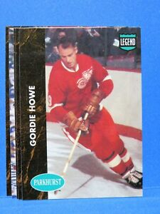 1991-92 Parkhurst Hockey, Series 1 PHC Insert 5-Card Set: Gordie Howe, Fedorov